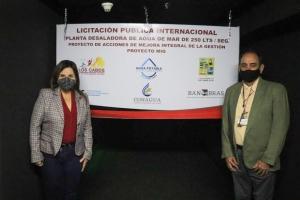 01 ¡Armida Castro cumple! Se garantiza la transparencia en la Licitación Pública Internacional de la nueva Planta Desaladora en CSL 2