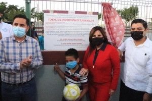 01 ¡Un compromiso más cumplido! Inaugura alcaldesa Armida Castro parque en la colonia Lomas del Sol en CSL 3