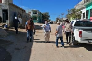 03 Recorre Oomsapas Los Cabos colonias que serán beneficiadas con la Red de Agua Potable 1